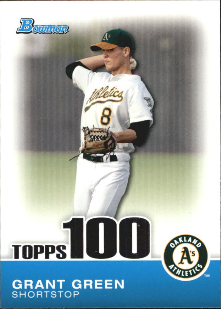 2010 Bowman Topps 100 Prospects #TP42 Grant Green