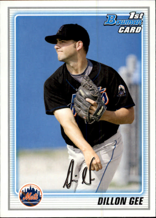 2010 Bowman Prospects #BP70 Dillon Gee