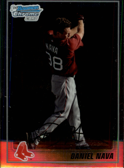 2010 Bowman Chrome Prospects #BCP47 Daniel Nava