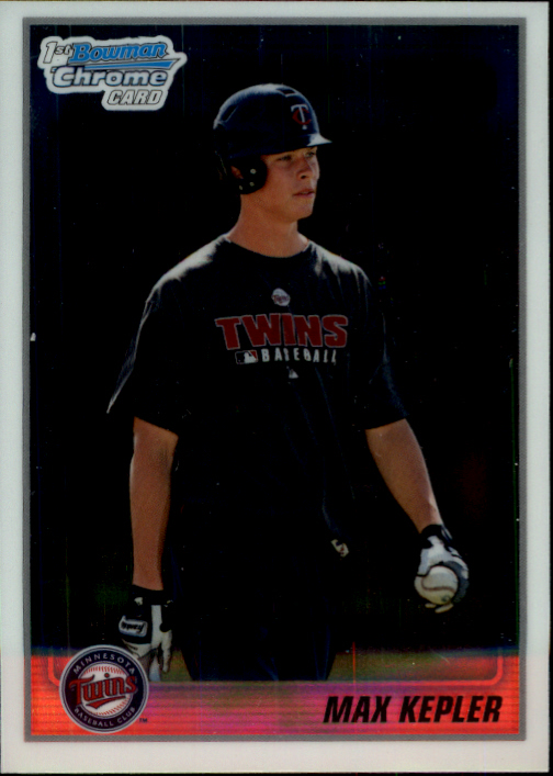 2010 Bowman Chrome Prospects #BCP203A Max Kepler