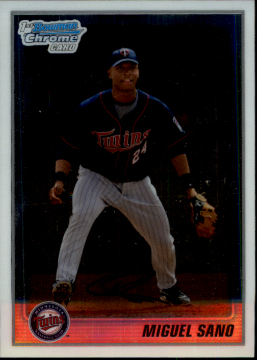 2010 Bowman Chrome Prospects #BCP205A Miguel Sano