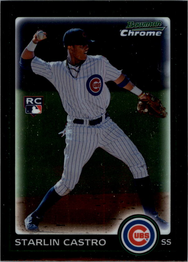2010 Bowman Chrome #211B Starlin Castro RC