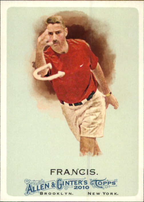 2010 Topps Allen and Ginter #48 Alan Francis
