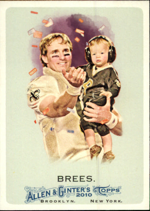 2010 Topps Allen and Ginter #287 Drew Brees