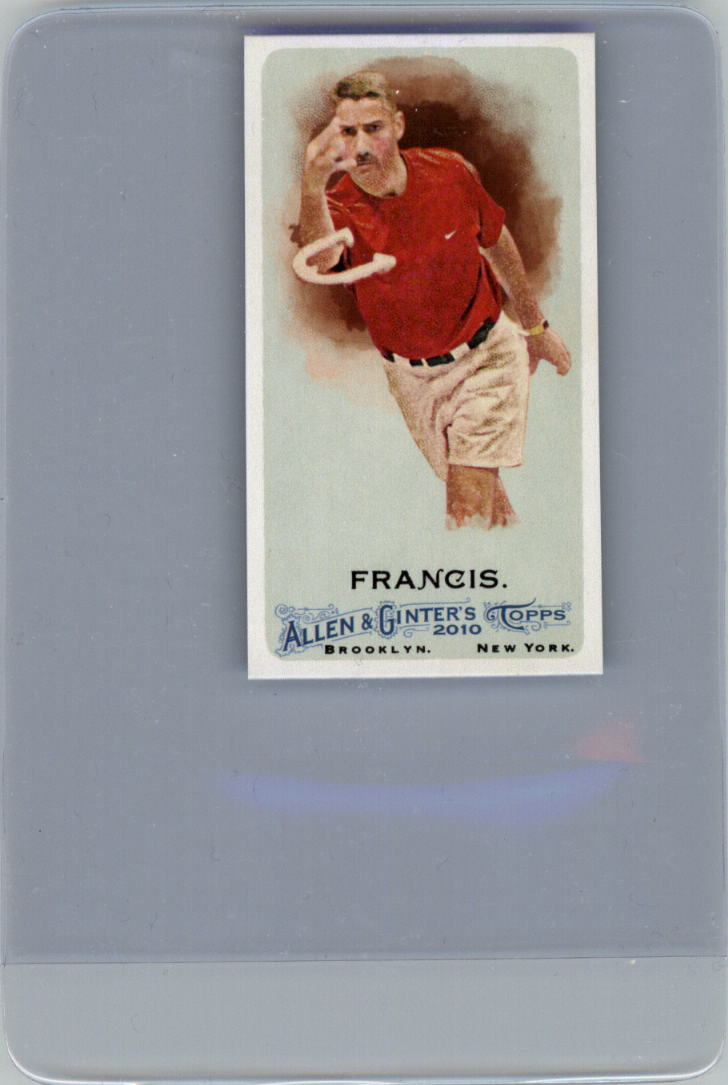 2010 Topps Allen and Ginter Mini A and G Back #48 Alan Francis