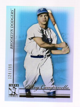 2010 Topps Tribute Blue #6 Roy Campanella