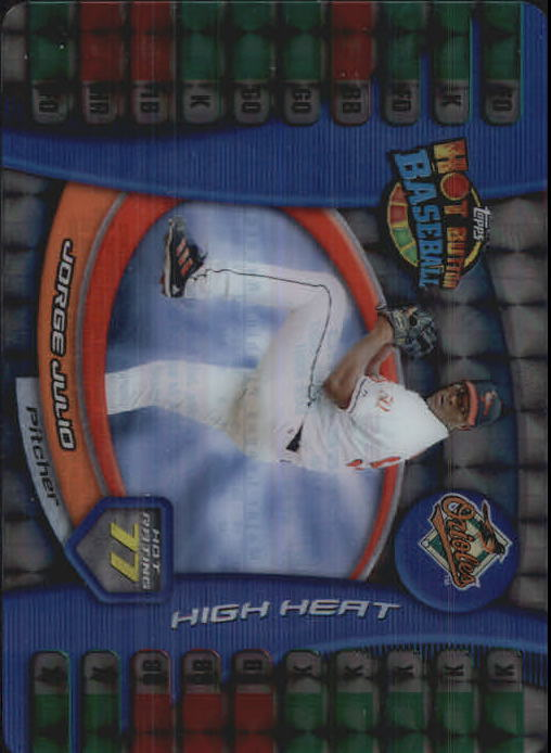 2005 Topps Hot Button Refractors #24 Eric Milton