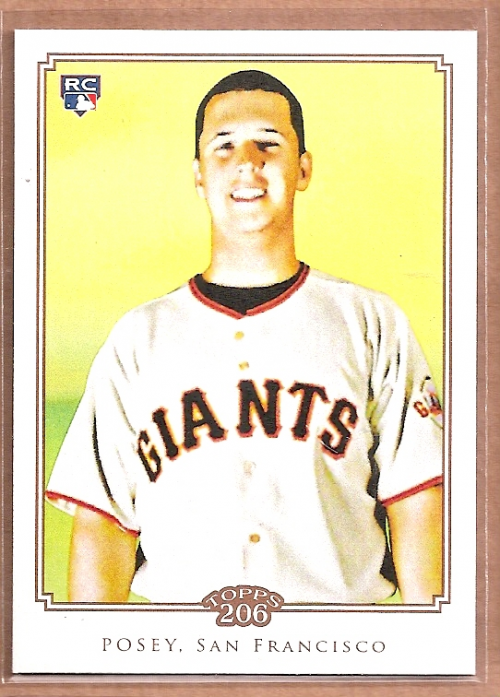 2010 Topps 206 #193 Buster Posey RC