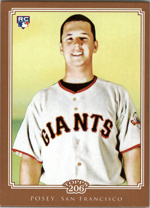 2010 Topps 206 Bronze #193 Buster Posey