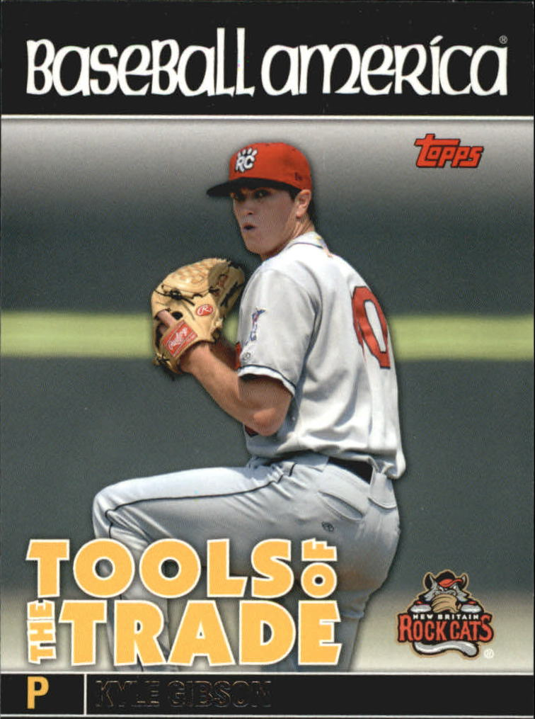2010 Topps Pro Debut Baseball America's Tools of the Trade #TT16 Kyle Gibson