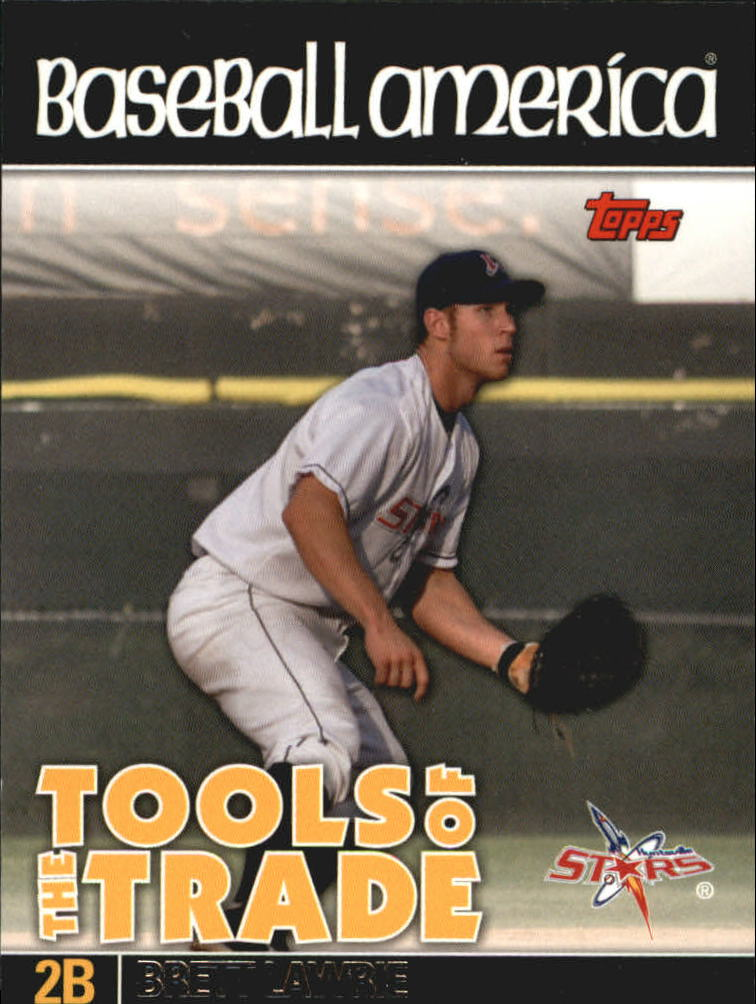 2010 Topps Pro Debut Baseball America's Tools of the Trade #TT41 Brett Lawrie