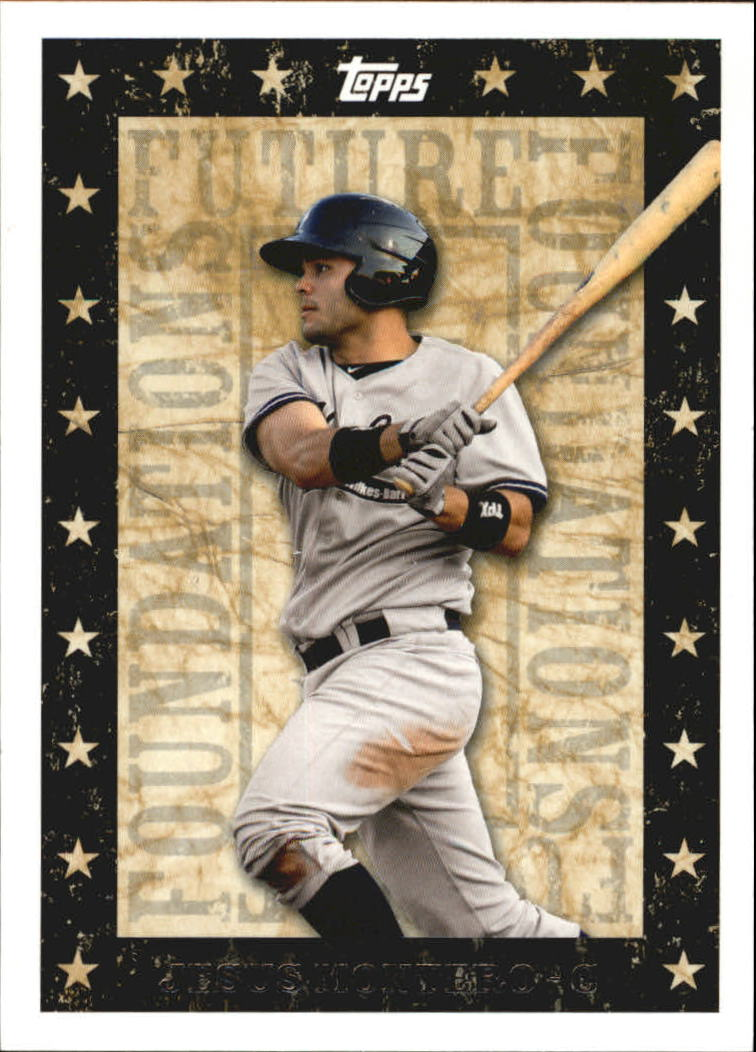2010 Topps Pro Debut Future Foundations #FF1 Jesus Montero