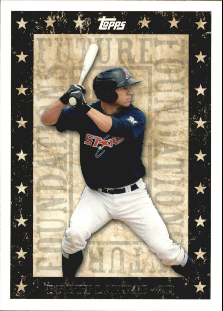 2010 Topps Pro Debut Future Foundations #FF23 Brett Lawrie