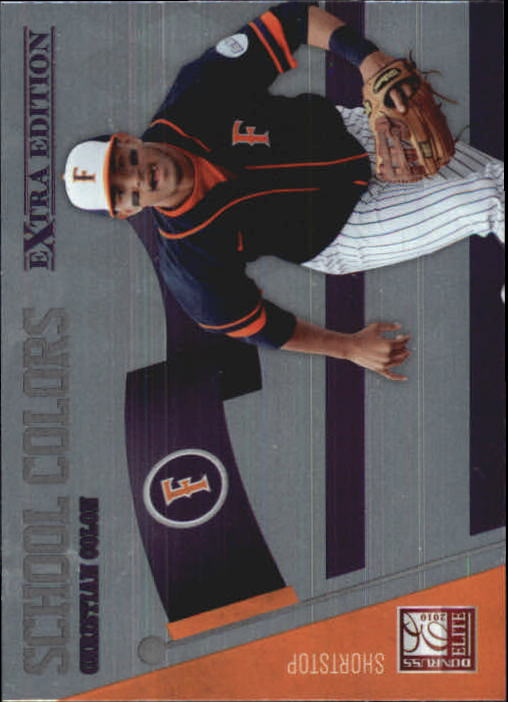 2010 Donruss Elite Extra Edition School Colors #2 Christian Colon