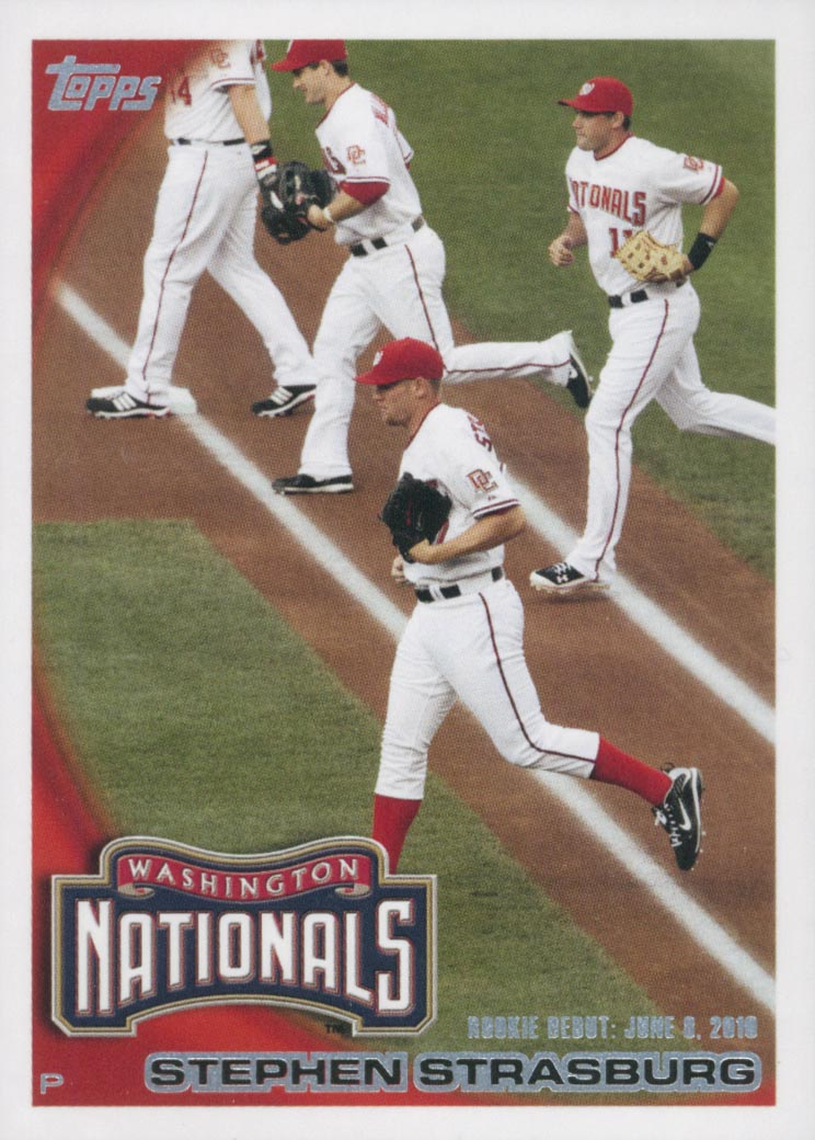 2010 Topps Update #US55 Stephen Strasburg