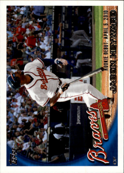 2010 Topps Update #US214A Jason Heyward