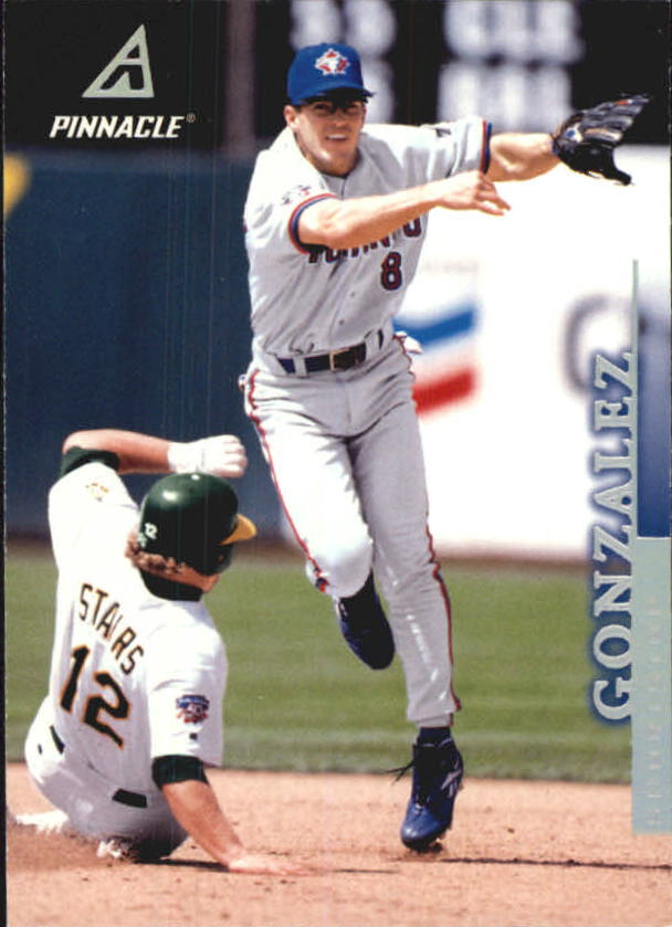 1998 Pinnacle Away Statistics Back #137 Alex Gonzalez