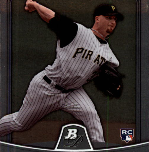 2010 Bowman Platinum #58 Brad Lincoln RC