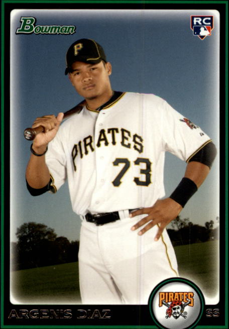 2010 Bowman Draft #BDP99 Argenis Diaz RC