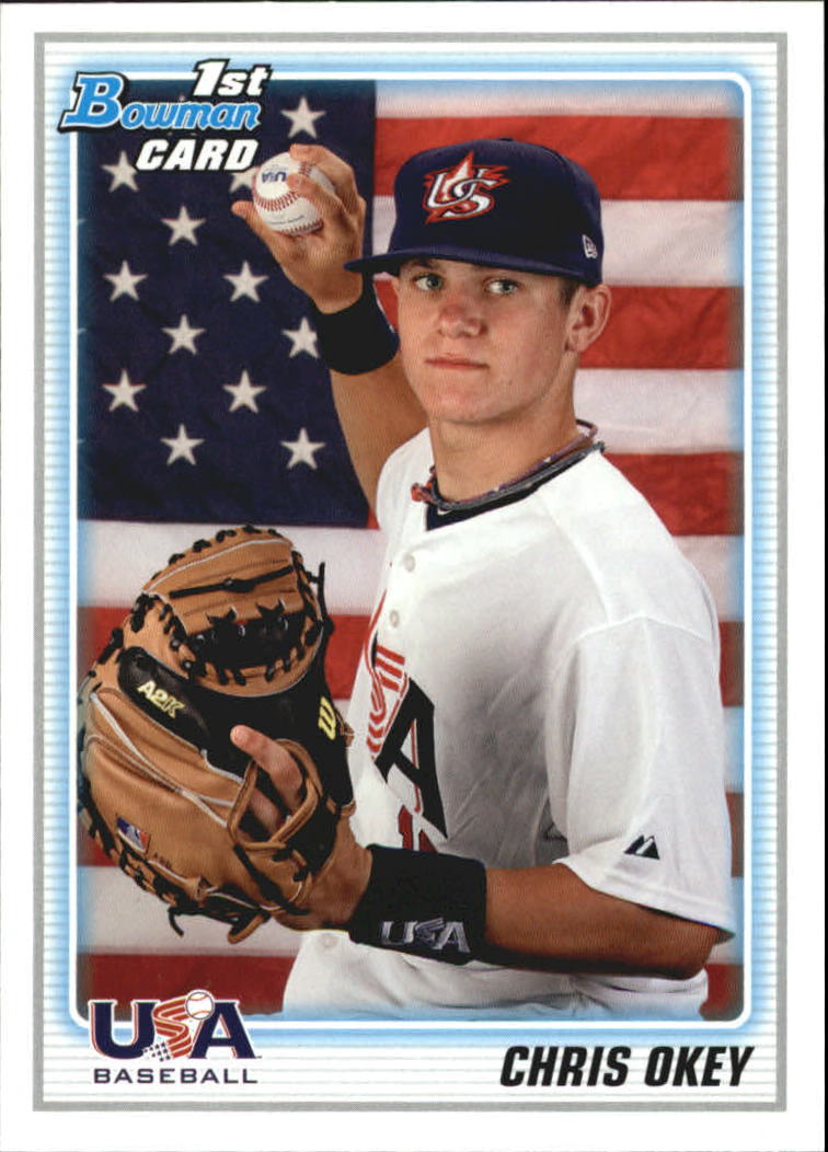 2010 Bowman Draft Prospects #BDPP103 Chris Okey