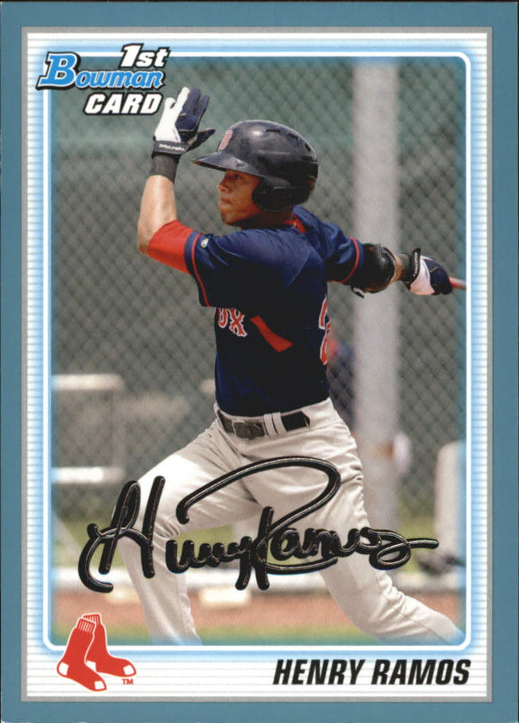2010 Bowman Draft Prospects Blue #BDPP3 Henry Ramos