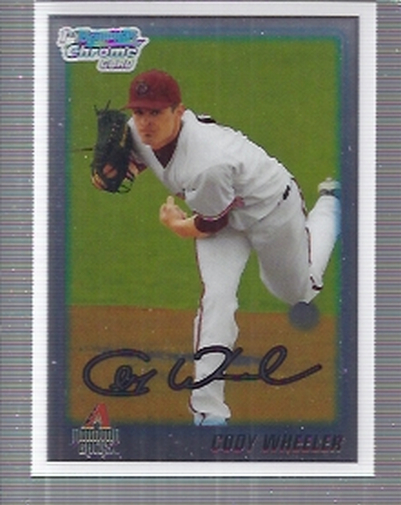 2010 Bowman Chrome Draft Prospects #BDPP35 Cody Wheeler