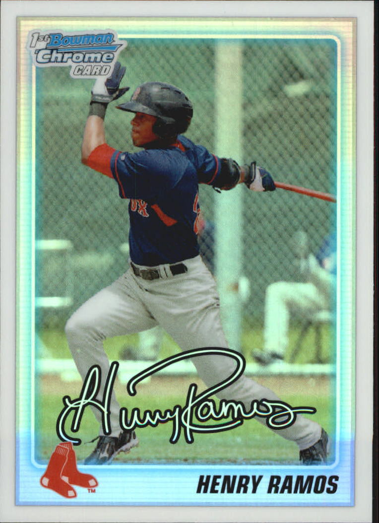 2010 Bowman Chrome Draft Prospects Refractors #BDPP3 Henry Ramos