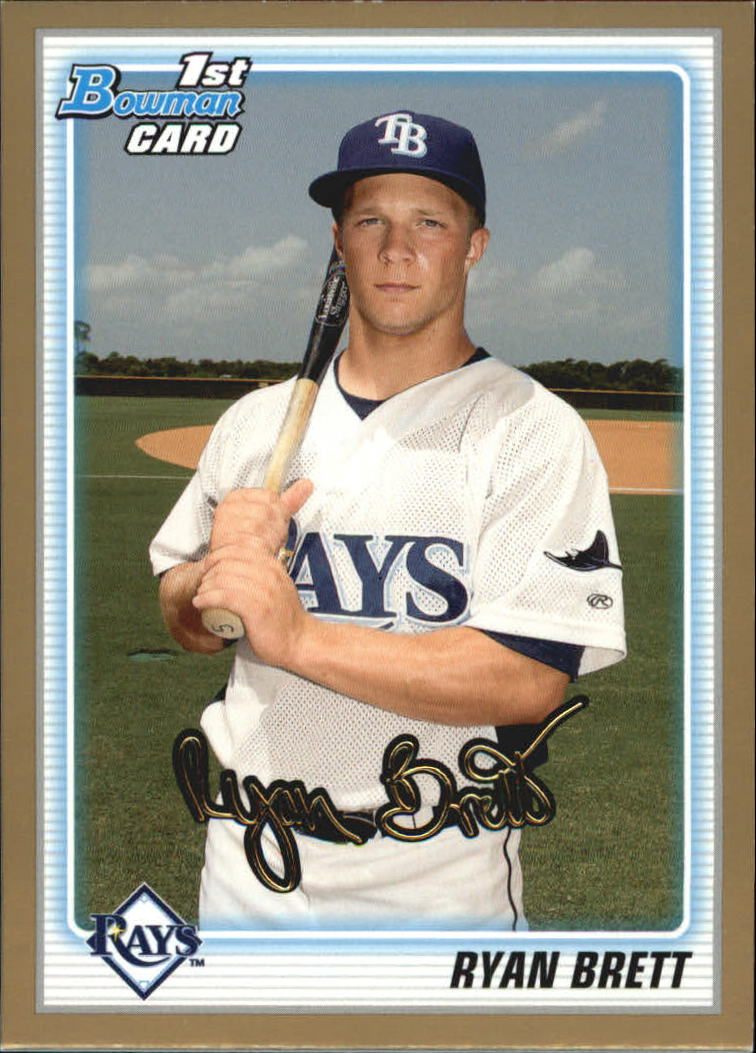 2010 Bowman Draft Prospects Gold #BDPP5 Ryan Brett