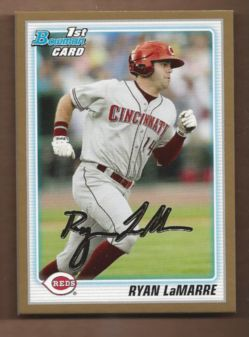 2010 Bowman Draft Prospects Gold #BDPP8 Ryan LaMarre