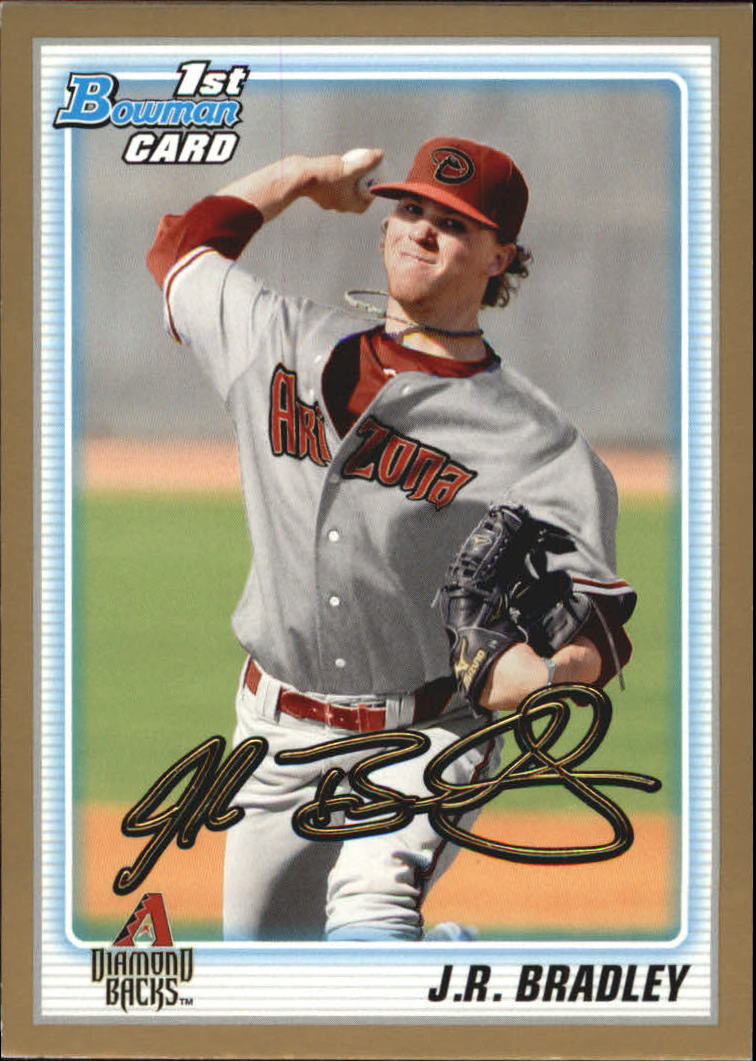 2010 Bowman Draft Prospects Gold #BDPP12 J.R. Bradley