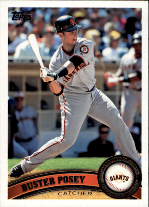2011 Topps #335 Buster Posey