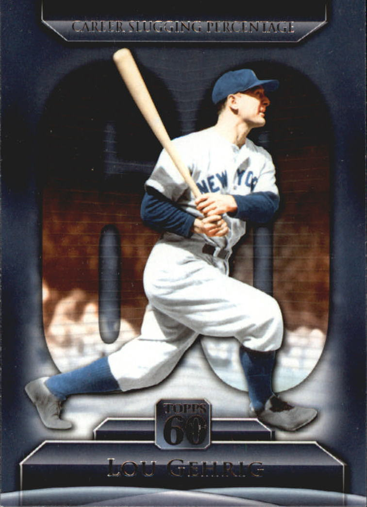2011 Topps 60 #5 Lou Gehrig