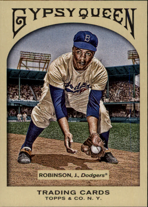 2011 Topps Gypsy Queen #4 Jackie Robinson