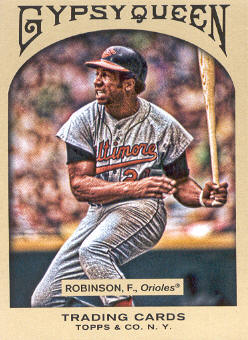2011 Topps Gypsy Queen #6 Frank Robinson