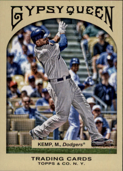 2011 Topps Gypsy Queen #15 Matt Kemp