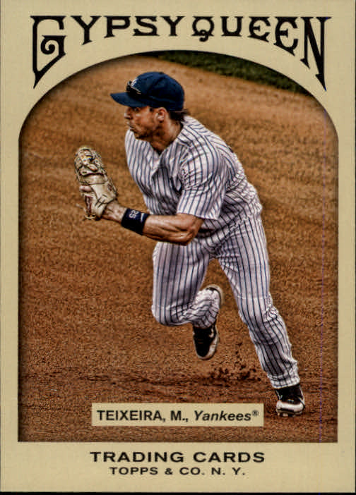 2011 Topps Gypsy Queen #17 Mark Teixeira