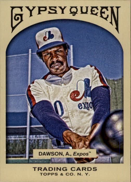 2011 Topps Gypsy Queen #20 Andre Dawson