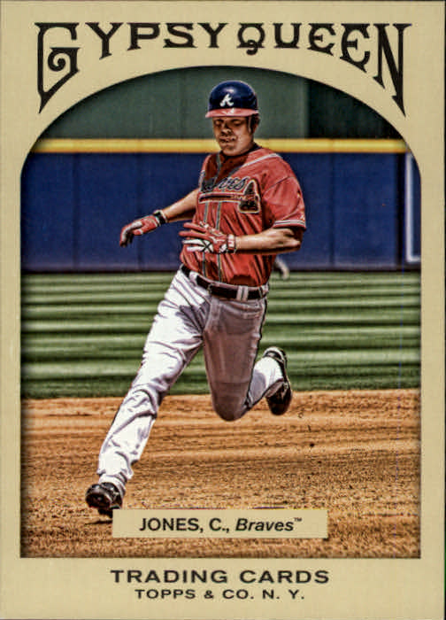 2011 Topps Gypsy Queen #24 Chipper Jones