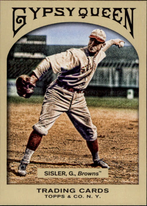 2011 Topps Gypsy Queen #40 George Sisler