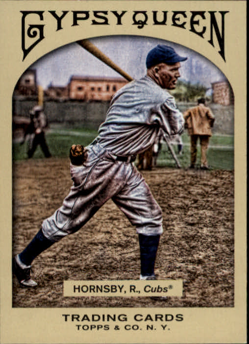 2011 Topps Gypsy Queen #60 Rogers Hornsby