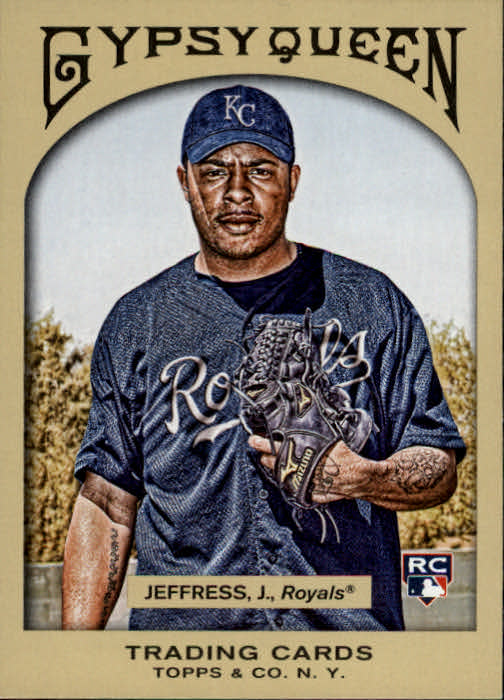 2011 Topps Gypsy Queen #115 Jeremy Jeffress RC