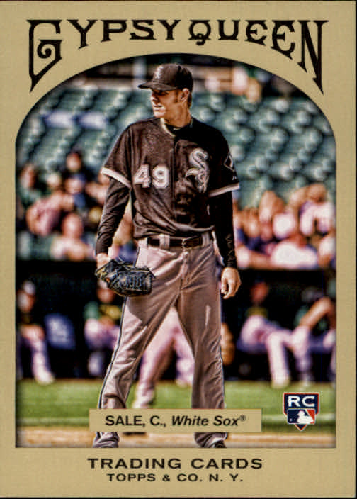 2011 Topps Gypsy Queen #188 Chris Sale RC