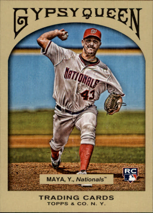 2011 Topps Gypsy Queen #233 Yunesky Maya RC