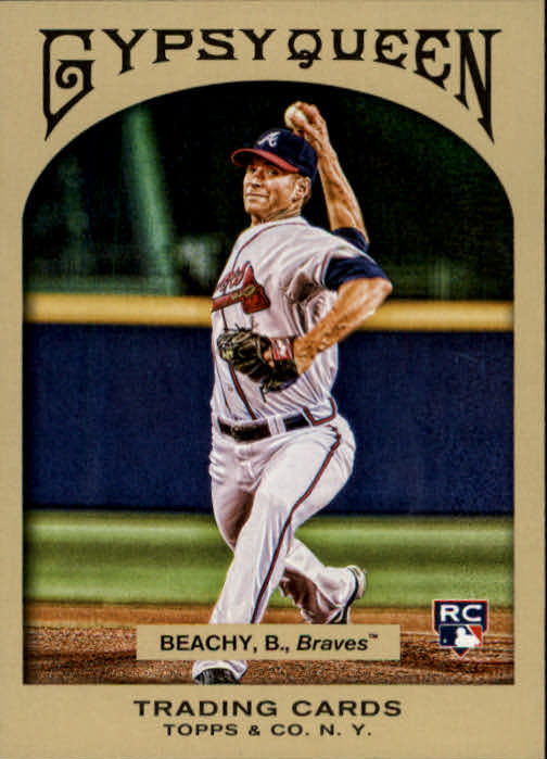 2011 Topps Gypsy Queen #238 Brandon Beachy RC