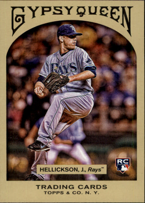 2011 Topps Gypsy Queen #264 Jeremy Hellickson RC