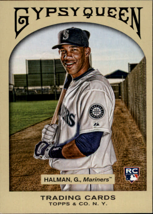 2011 Topps Gypsy Queen #331 Greg Halman RC SP