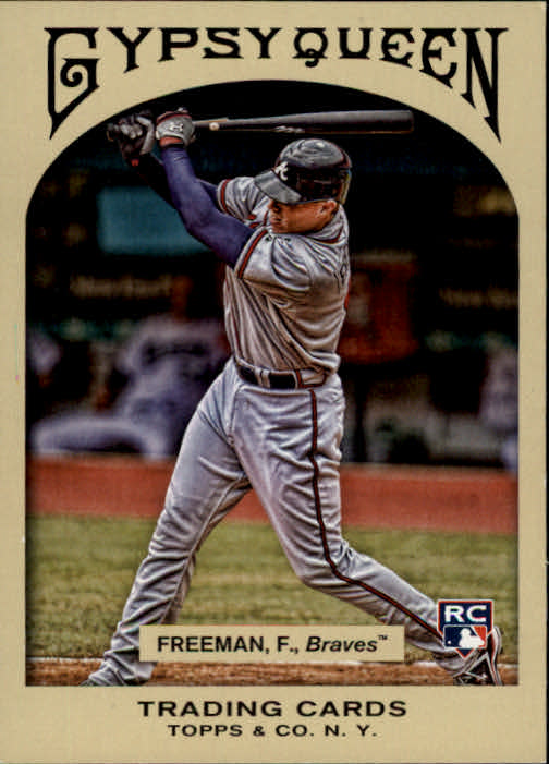 2011 Topps Gypsy Queen #335 Freddie Freeman RC SP