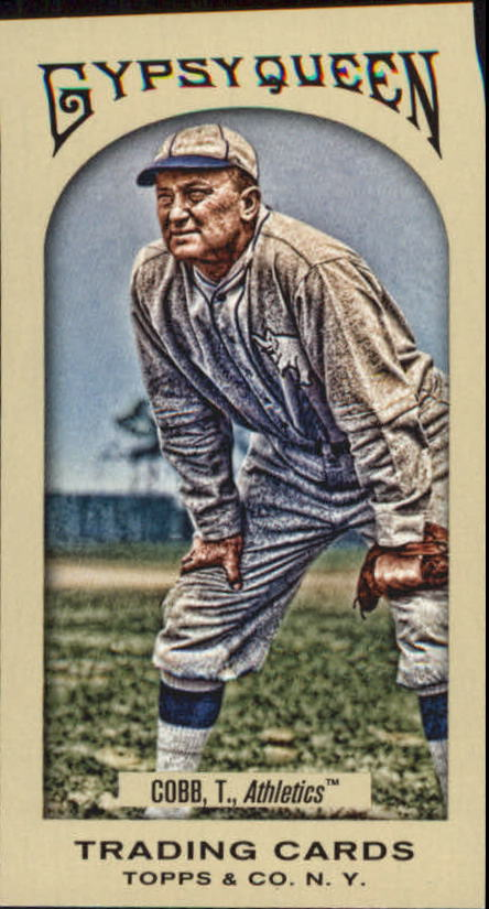 2011 Topps Gypsy Queen Mini #296 Ty Cobb