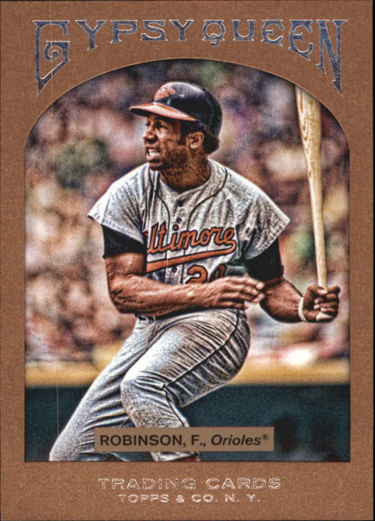 2011 Topps Gypsy Queen Framed Paper #6 Frank Robinson