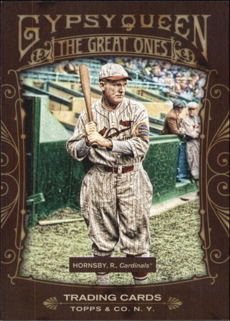2011 Topps Gypsy Queen Great Ones #GO19 Rogers Hornsby